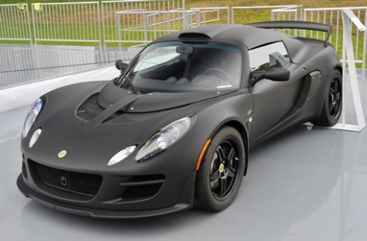 Lotus, The Luxury British Sports Car Maker Reveals Itu0027s Latest Model, The  Exige Matte Black ...